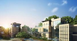 三亚君御共计35栋近海别墅 分为南区和北区两部分