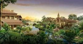 石梅山庄 典藏景观温泉度假之地 均价20000元/㎡起